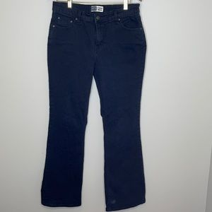 Signature by Levi Strauss black boot cut jeans 14